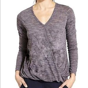 Athleta Siri Twist Long Sleeve